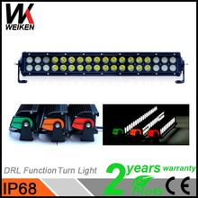 High Lumen LED Light Bar Colorful Cover 18inch 108w Working Head Light