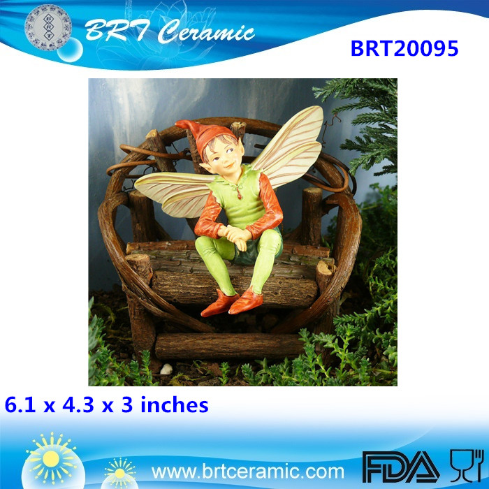 wholesale custom decor miniature flying fairy