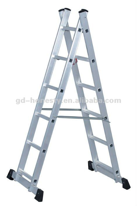 ZL-12 Aluminium Multifunction 3 Section Ladder