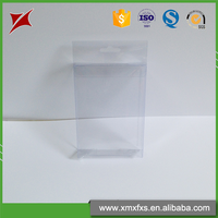 Transparent disposable PET plastic clear packaging box for electronic products