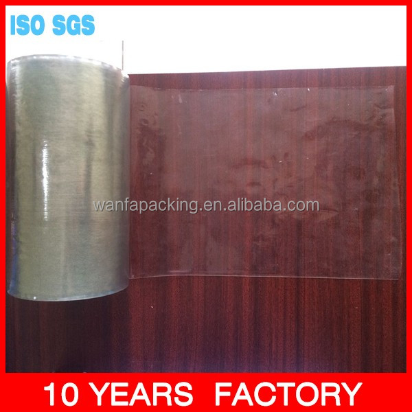 Wanfa wood grain surface finish aluminum profile protective film