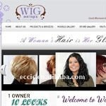 wig website, Excellent website design, experienced SEO service