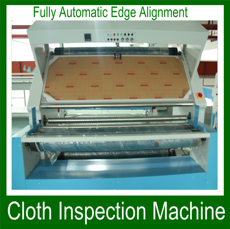 Automatic digital counter meter fabric/fabric rolling machine and fabric open width machine made in China
