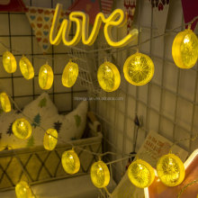 lemon string lights hanging novelty fairy light chain fruit range led light