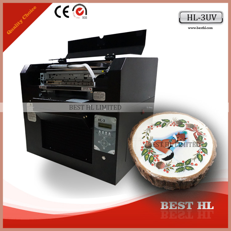 2016 Inkjet Digital Flatbed a3 Multifunction uv printer For Any products with flat surface