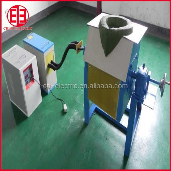 small portable gold silver copper steel Induction Melting Furnace