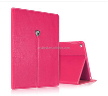 Factory custom high quality premium leather flip stand smart cover case for new ipad 10.5 inch with card slot