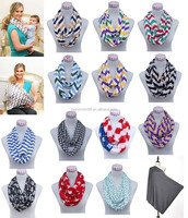 2016 Most Popular Quatrefoil Jersey Infinity Scarf With 9 Colors bufanda infinito bufanda by Real Fashion
