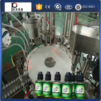 Liquid Filling And Capping Machine For