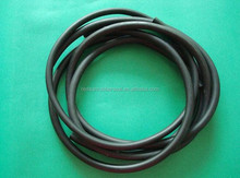 black extruded rubber cord