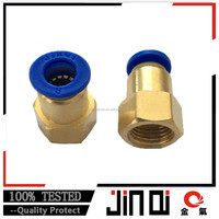 factory price air tube fast brass fitting