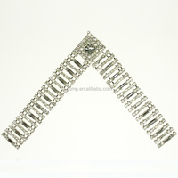Wholesale Ladies Bling Shoe Decorations Rhinestone