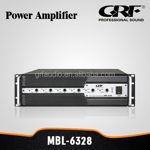 Pro Audio 5.1 Professional Multi Channel Amplifier