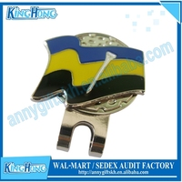 New style best selling custom golf magnetic hat clip