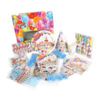 Wholesale Decorations Kids Birthday Party Supplies Sets