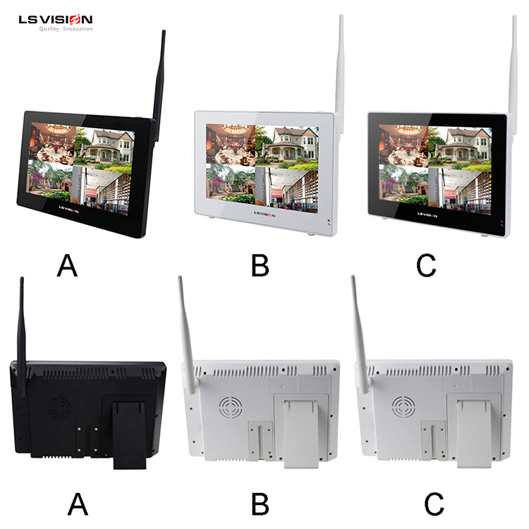 LS VISION 9 INCH LCD Monitor 720P Touch screen with wifi kit