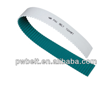 T10 type NFT coated high quality competitive price good water solution stainless steel wire pu conveyor belt jointed