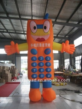 inflatable mobile cartoon