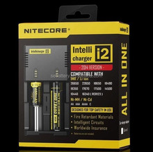 Original 2016 nitecore newi2 intellicharger i2 18650 charger