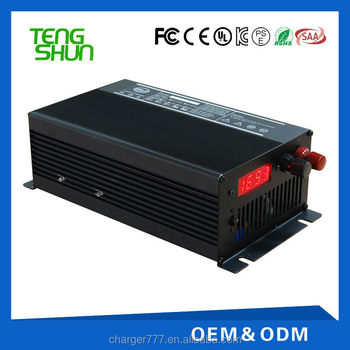 24v 30a automatic floor scrubber float battery chargers for 24v 200-300ah lead acid battery