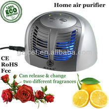 Innovative Portable Mini Home Air Purifier Ionizer JO-688 (with 2 automatic aroma fragrance diffusers)