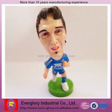 famous plastic football figure,OEM pvc football player figures,Custom football player action figure