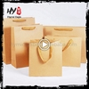 Multifunctional recycled brown paper bag with great price