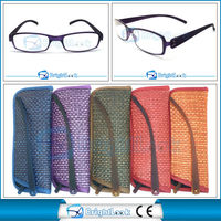 Hot selling nice slim read glases with match case fit CE/FDA BRP3879
