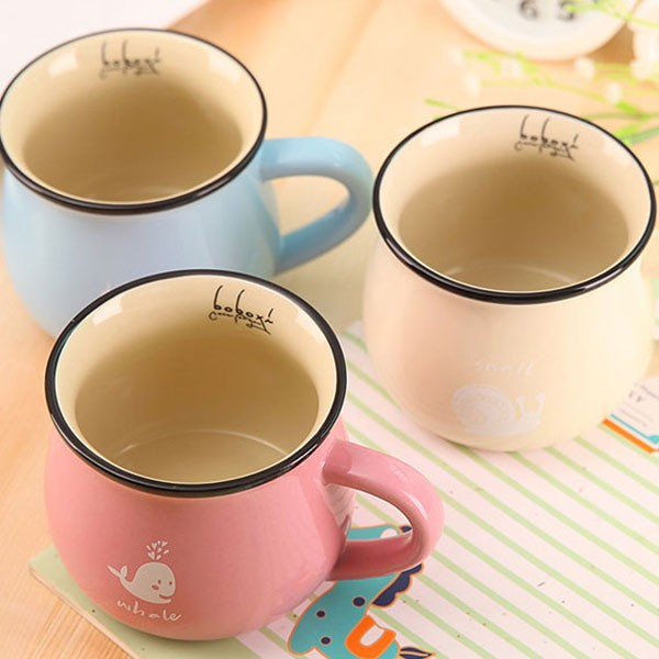 Yiwu Wholesale Porcelain Milk Mug Without Lids Custom Logo 250ML Cheap Ceramic Coffee Cup