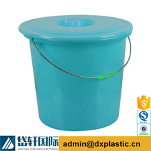 Daixuan DX020 Small Plastic Pail with Rope Handle and Lid