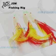 Wholesale Fishing flasher rigs with feather,sabiki rigs for fishing