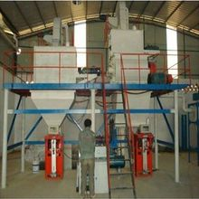 Building Materail Machinery semi-automatic dry mortar and plaster board production line