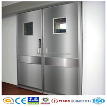 High quality hospital stainless steel leaded x-ray protective door insert