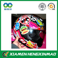 Hot sale safety helmet stickers;motorcycle helmet stickers