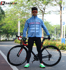 OEM custom adult foldable bike rain jacket, durable cycling rain coat, 100% waterproof hoodie style cycling rain jacket