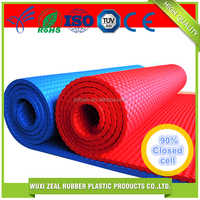 Eco-friendly Non-slip fitness designer 12mm eco yoga mats
