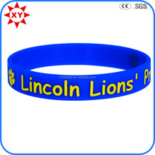 Wholesale cheap animal park print customized silicone wristbands