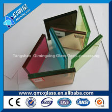 High Quality Sound control glass/ low price 4mm 5mm 6mm Low-E Insulating Glass for curtain wall