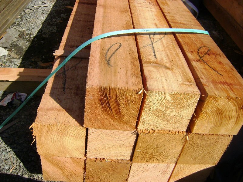 Western Red Cedar - Timber Squares