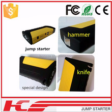 2015 muti-funtional design with knife and hammer car jump starter