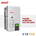 split phase pure sine wave 2000w power inverter dc 24v ac 120V 230v