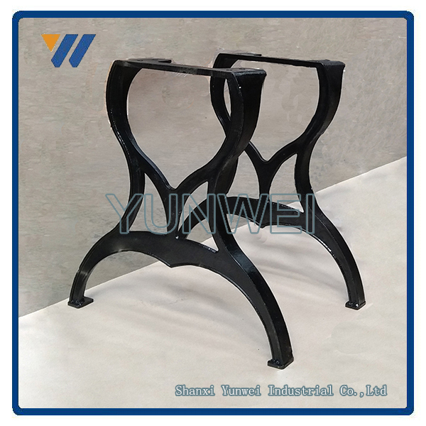Hot Sales Promotional Decorative Cast Iron Legs Industrial Coffee Table