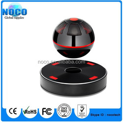 Hot selling factory price Portable Wireless Bluetooth 4.1 Magnetic Levitation Speaker Floating Rotating Speaker with NFC Funtion