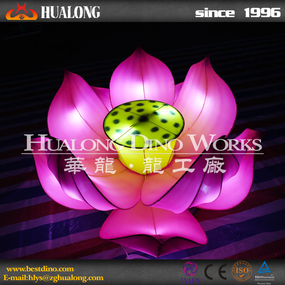 lotus flower traditional lantern decoration