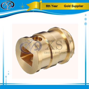 custom fabricated brass cnc machining bushing fittings & insert nuts