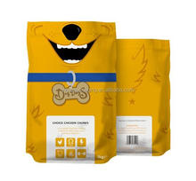 The high quality Beauty design zipper top pet food packaging/packing bag