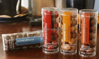 dongguan packaging and printing plastic pvc tube container with lid