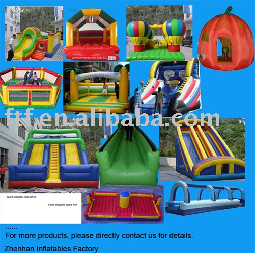 Inflatable Bouncers, Slide, Tent