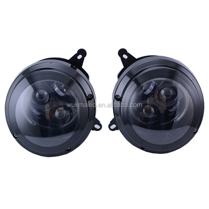 Jeep Compass Patriot SUV Set of Headlights Headlamps Led Projector For 2011-2015 Jeep Patriot