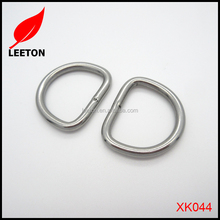 Factory supply Stainless steel welded D ring bag buckle
